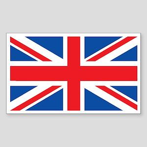 UK Rectangle Sticker