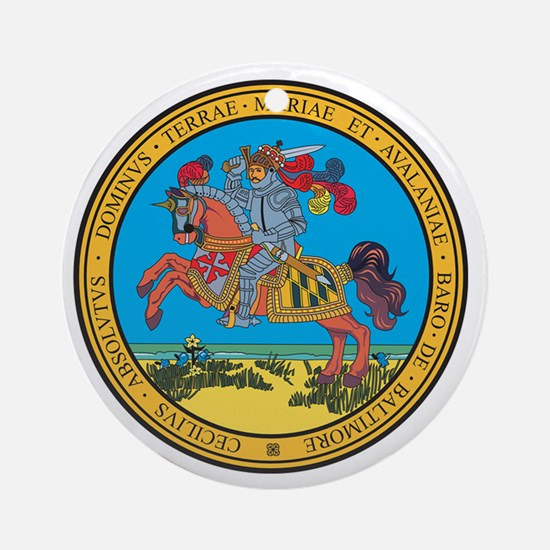 MARYLAND-SEAL-2 Ornament (Round)