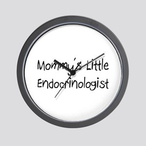 Mommy's Little Endocrinologist Wall Clock