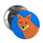 """Coyote 2.25"""" Button (100 pack)"""