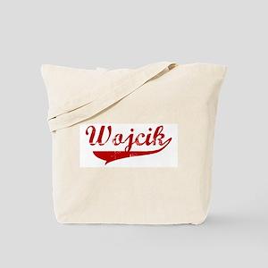 Wojcik (red vintage) Tote Bag