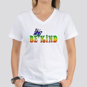 Be Kind Women's V-Neck T-Shirt