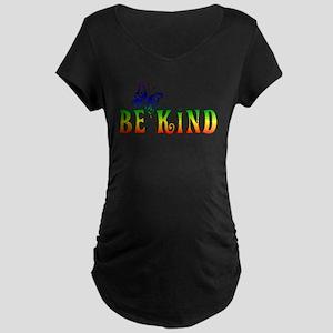 Be Kind Maternity Dark T-Shirt