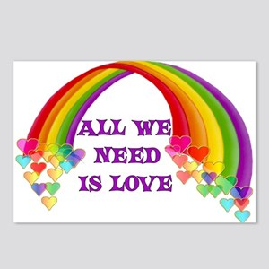 All We Need Is Love Postcards (Package of 8)