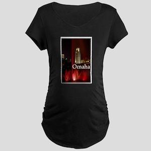 Omaha Maternity Dark T-Shirt