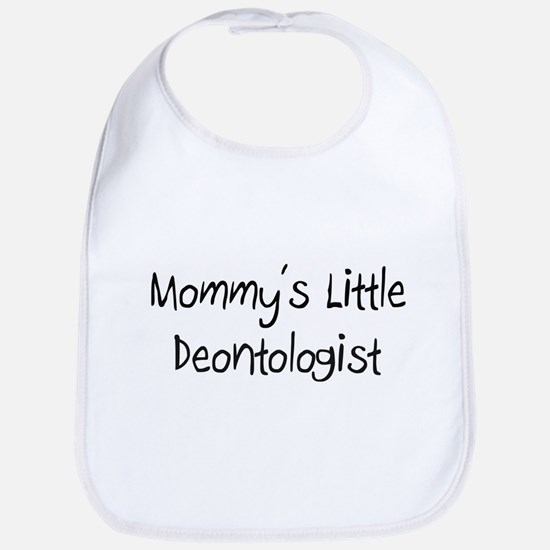 Mommy's Little Deontologist Bib