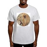 Yeshua, Lion Of Judah Ash Grey T-Shirt