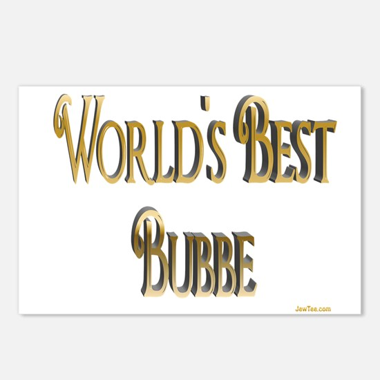 Wold's Best Bubbe Postcards (Package of 8)