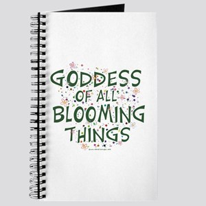 Blooming Things Goddess Journal
