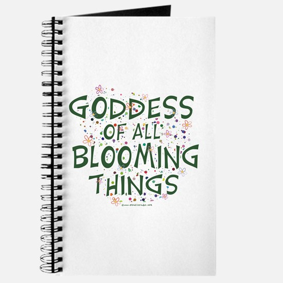Blooming Things Goddess Journal