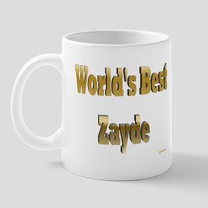 World's Best Zayde Mug