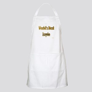 World's Best Zayde BBQ Apron