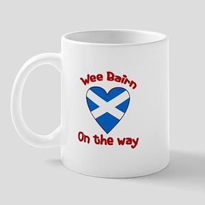 Wee Bairn On the Way Mug