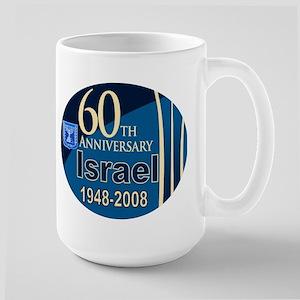 Israel At 60! Large Mug