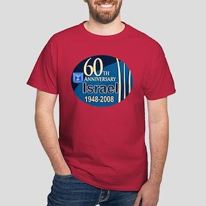 Israel At 60! Dark T-Shirt