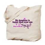 faster than yours 1 Tote Bag
