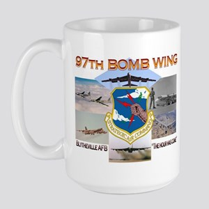 97th - Blytheville AFB Large Mug