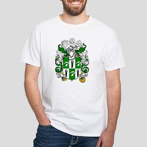 Higgins Family Crest White T-Shirt