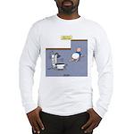 Baby Potty Training Robot Long Sleeve T-Shirt