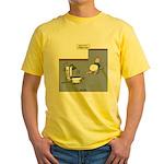 Baby Potty Training Robot Yellow T-Shirt