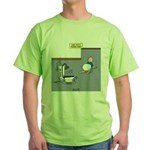 Baby Potty Training Robot Green T-Shirt