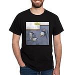 Baby Potty Training Robot Dark T-Shirt