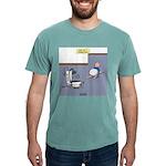 Baby Potty Training Robo Mens Comfort Colors Shirt