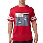 Baby Potty Training Robot Mens Football Shirt