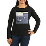 Baby Potty Traini Women's Long Sleeve Dark T-Shirt
