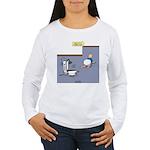 Baby Potty Training Ro Women's Long Sleeve T-Shirt