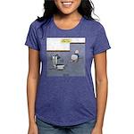 Baby Potty Training Robot Womens Tri-blend T-Shirt