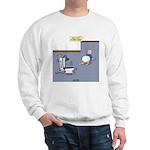 Baby Potty Training Robot Sweatshirt