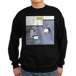 Baby Potty Training Robot Sweatshirt (dark)