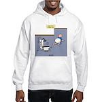 Baby Potty Training Robot Hooded Sweatshirt