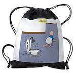 Baby Potty Training Robot Drawstring Bag
