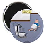 Baby Potty Training Robot Magnet