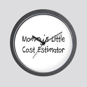Mommy's Little Cost Estimator Wall Clock