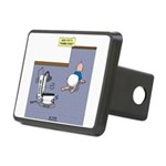 Baby Potty Training Robot Rectangular Hitch Cover