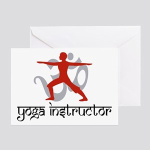 Yoga Instructor Greeting Card