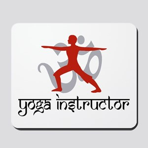 Yoga Instructor Mousepad
