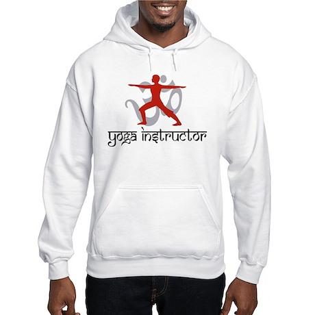 Yoga Instructor Hooded Sweatshirt