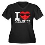 I Love Oceanside Plus Size T-Shirt