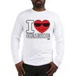 I Love Oceanside Long Sleeve T-Shirt