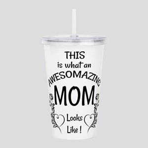 Awesome and Amazing Mo Acrylic Double-wall Tumbler