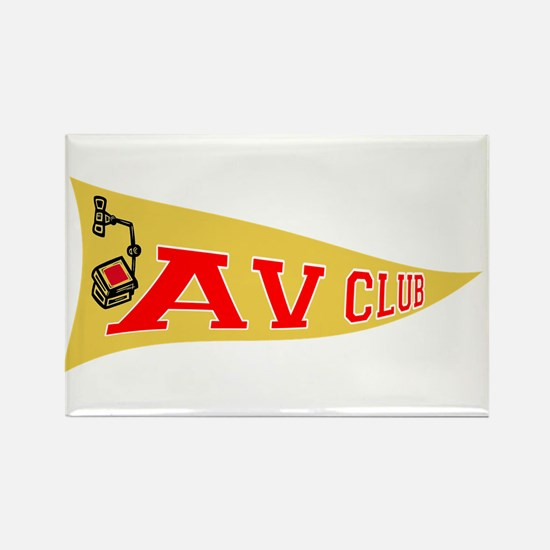 AV Club Rectangle Magnet