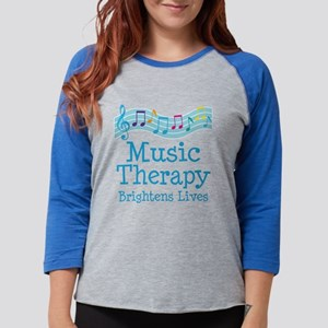 Music Therapy Colorfu Long Sleeve T-Shirt