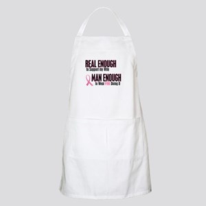 Real Enough Man Enough 1 (Wife) BBQ Apron