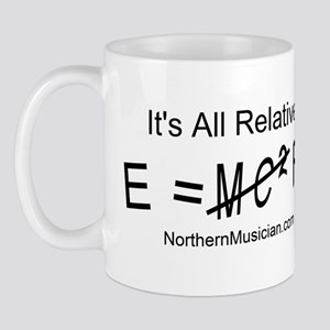 E = (not)MC2 Fb Mug