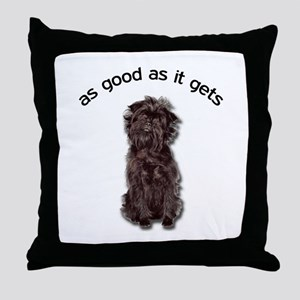 Good Affenpinscher Throw Pillow