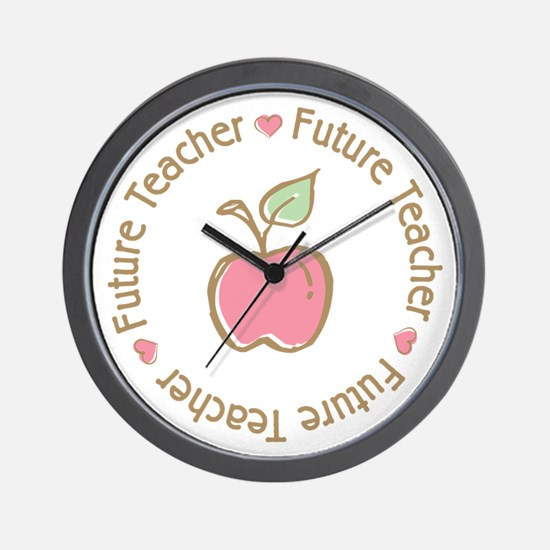 Future Teacher Wall Clock